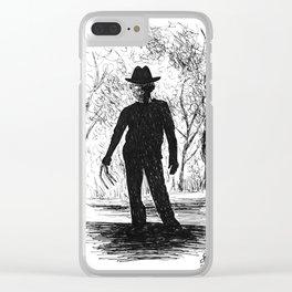 One, Two, Freddy's Coming For You Clear iPhone Case