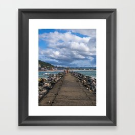 Aguadilla coast 5 Framed Art Print
