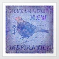 motivation Art Prints featuring Motivation by LebensART
