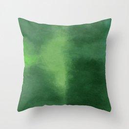 Dark Sea Green Throw Pillow