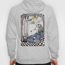 William the Conqueror and the 9 Feet Tall Caucus Race Hoody