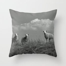 Still waiting for what is to come Throw Pillow