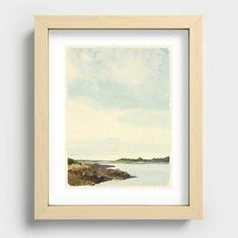 Cape Porpoise, Maine Recessed Framed Print