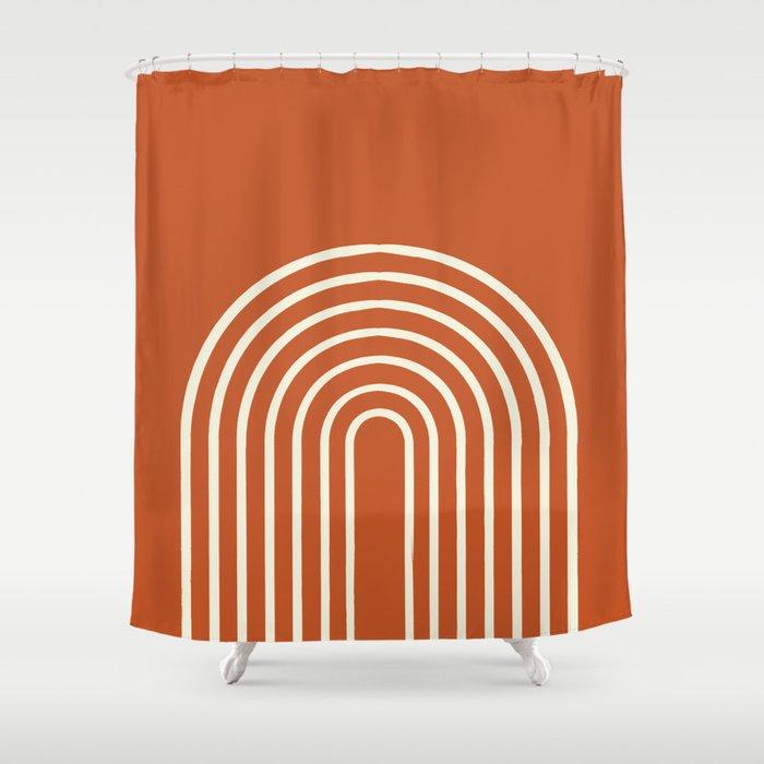 Terracota Shower Curtain