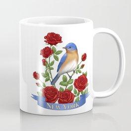 New York State Bird and Flower Coffee Mug