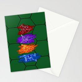 TMNT Rock Stationery Cards