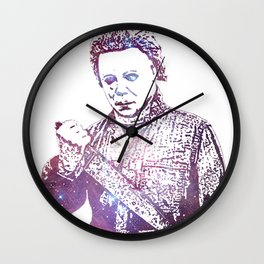 Galaxy Tony Moran Michael Myers Wall Clock