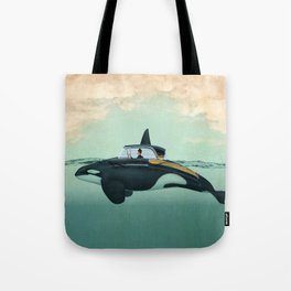 The Turnpike Cruiser of the sea Tote Bag