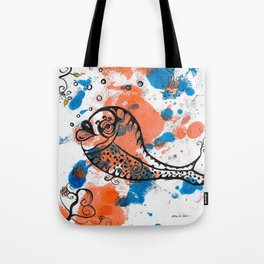 FREE TO GO by mrs Wilkes Tote Bag