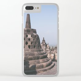 Temple, Indonesia Clear iPhone Case
