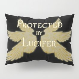Protected by Lucifer Light Pillow Sham