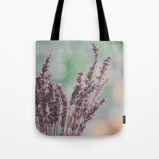 Lavender by the window Tote Bag