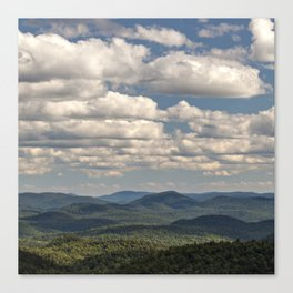 from peaked mountain Canvas Print
