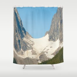 Ugap Mountain Shower Curtain