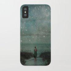 Stars in the Night Sky Slim Case iPhone X