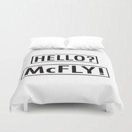 McFly Duvet Cover