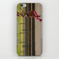 run iPhone & iPod Skins featuring Run by Sébastien BOUVIER
