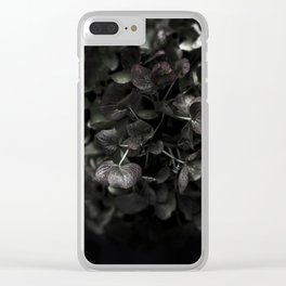 Hello Fall - Hydrangea Clear iPhone Case