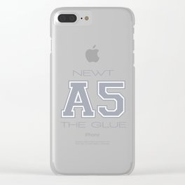 SUBJECT A 5 - NEWT Clear iPhone Case