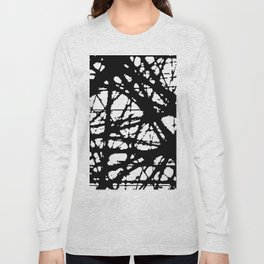 tension, black and white Long Sleeve T-shirt