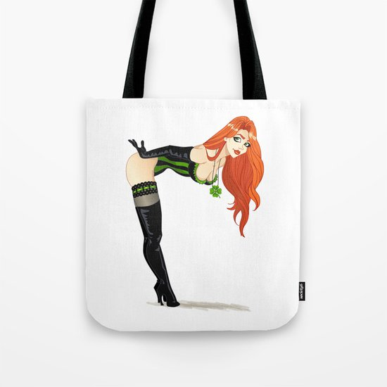 Lucky Girl Tote Bag