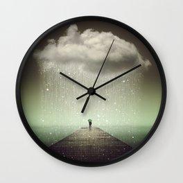 Weathering the Storm II Wall Clock