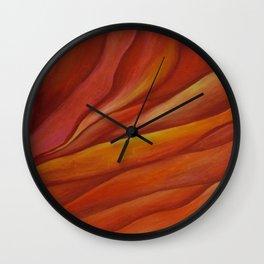 Mars Sunset Wall Clock