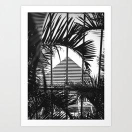 Tropical Lines Art Print