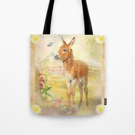 Little Donkey Tote Bag