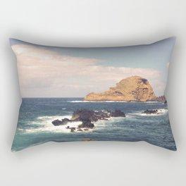 Sea Rocks In The Atlantic Ocean Rectangular Pillow