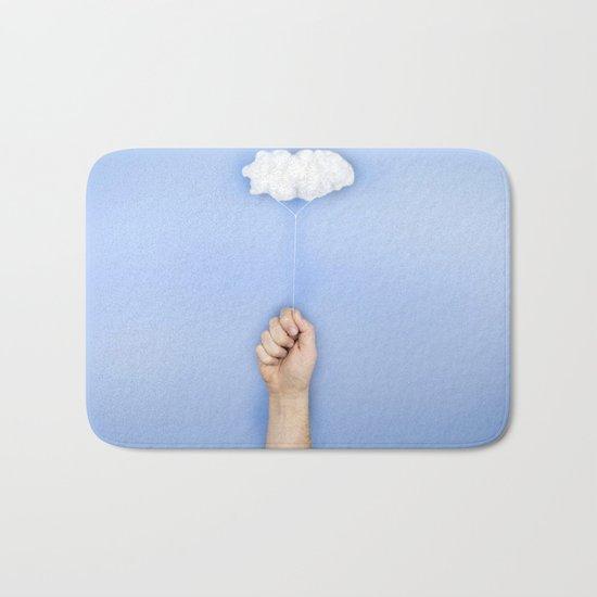 My cloud balloon Bath Mat