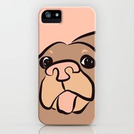 Ellie Mellie - soft pink iPhone Case