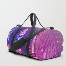 New York City Lights in Watercolor Duffle Bag