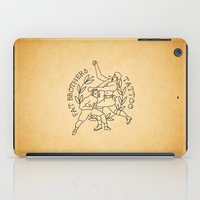 foo fighters iPad Cases featuring The Fighters by Fat Brothers Tattoo Art Emporium
