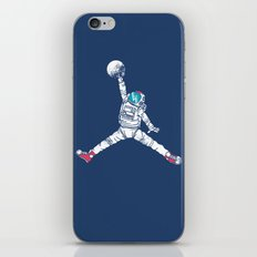 Space dunk iPhone & iPod Skin