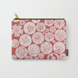 Botanical Forms Carry-All Pouch