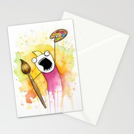 Meme Painting Stationery Cards