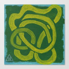 YellowRibbon Canvas Print