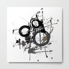 Enso Groove by Kathy Morton Stanion Metal Print
