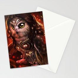 wonder owl Stationery Cards