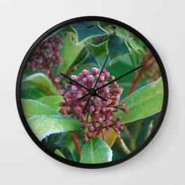Holly I Love You Wall Clock