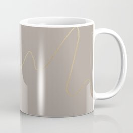 Golden swirl Coffee Mug