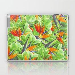 Strelitzia & Leaves Laptop & iPad Skin