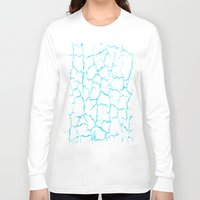 cracked Long Sleeve T-shirts featuring Cracked by Last Call