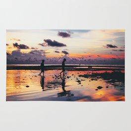 Maldivian sunset 2 Rug
