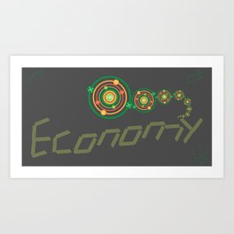 Economy Art Print