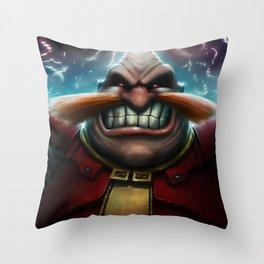 Robotnik [Rise Again] Throw Pillow