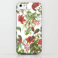 Ruby & Cerulean Floral iPhone 5c Slim Case