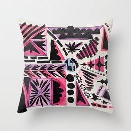 Passion Fruit Jamaica Throw Pillow