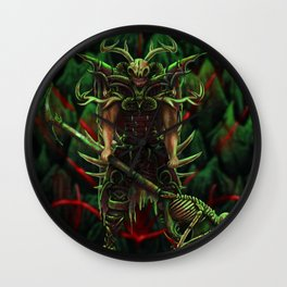 Morlock Priest  Wall Clock
